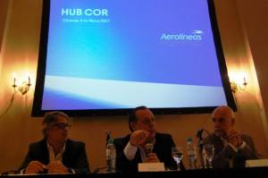 Hoy se presentó el HUB CORDOBA en el Sheraton Hotel .