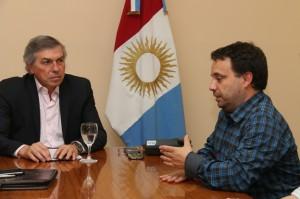 Massei, preside la reunión con Gestión de Riesgo y especialistas de España
