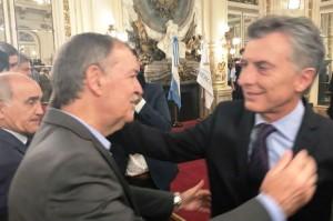 Schiaretti y Macri