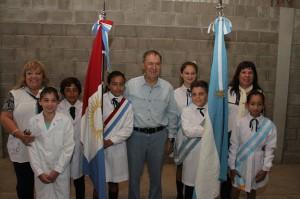 Schiaretti visitó Diego de Rojas