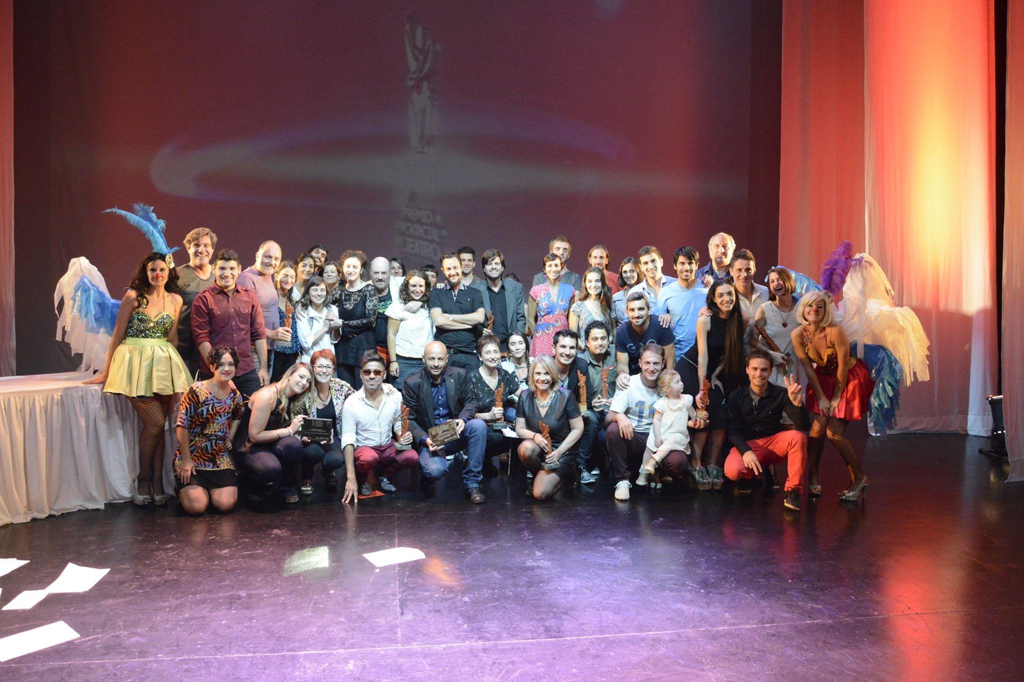 Ganadores del Premio Provincial de Teatro 2016.