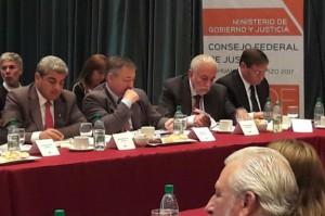 Reunión del Consejo Federal de Justicia