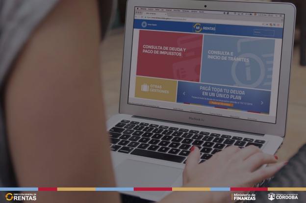 Obtenga el comprobante digital de su pago en la web de Rentas