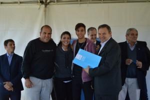 Desarrollo Social entregó 105 escrituras a vecinos de Barrio Patricios.