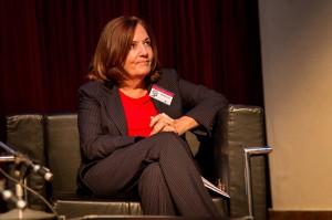 La secretaria Alejandra Vigo en el XIII Congreso Internacional Cultura del Trabajo.