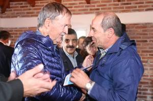 Visita del gobernador Schiaretti a la comuna de Monte Ralo.