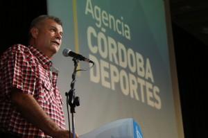 Medardo Ligorria, presidente de la Agencia Córdoba Deportes.