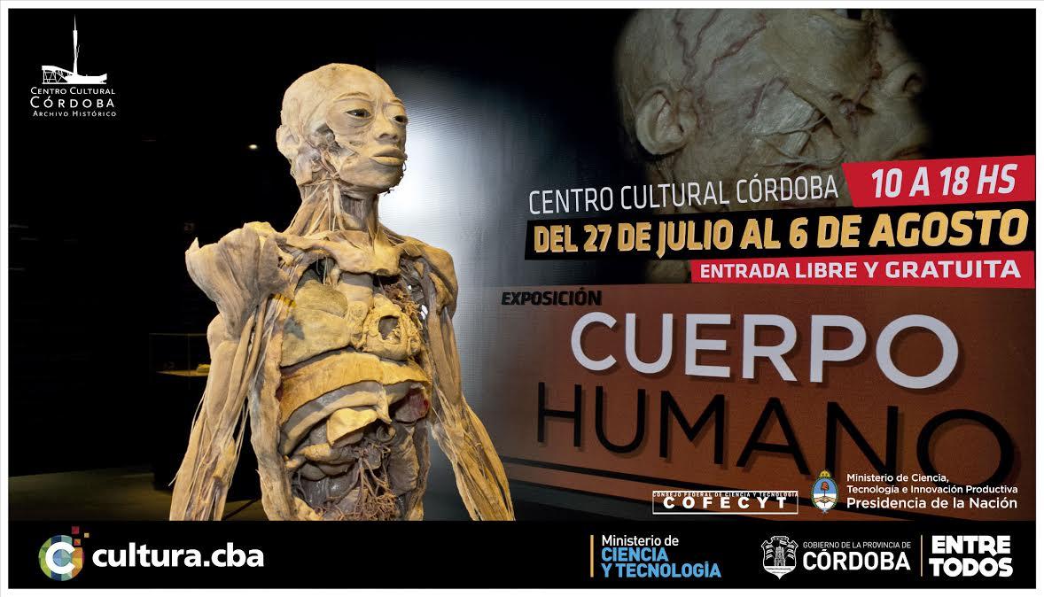 """En agosto llega la exposición """"Cuerpo Humano"""""""