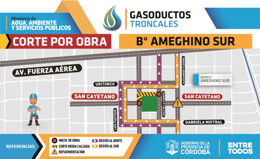 Gasoductos - 1 Ameghino Sur
