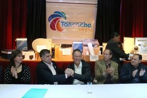 La Provincia y el Municipio de Tancacha firman convenio para ejecución de planta cloacal.