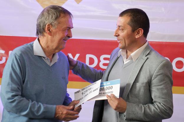 Schiaretti repasó la marcha de las obras provinciales en Arroyo Algodón