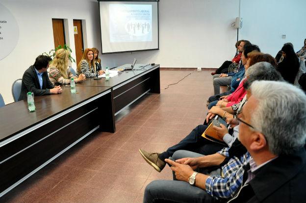 La CTIO dictó una capacitación sobre hostigamiento laboral en Río Cuarto
