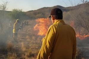 Incendios zona Cosquín -martes 19 de septiembre-