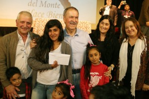Gobernador Schiaretti en Capilla del Monte.