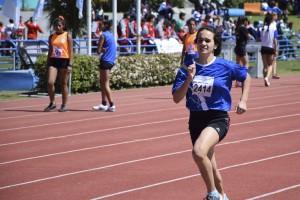 Ailin Corsi participa en los Juegos Evita 2017
