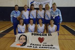 Básquet femenino sub 17. Instituto Santísima Trinidad de Hernando