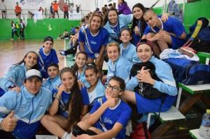 Jóvenes deportistas cordobeses en los Juegos Nacionales Evita 2017