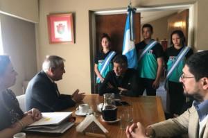El intendente de Villa Allende también suscribió acuerdo para recibir pasantías.