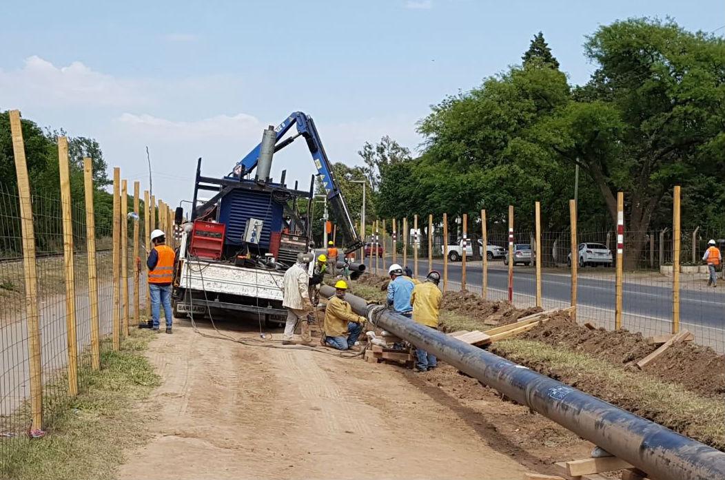 Trabajos de Gasoductos en Malvinas Argentinas