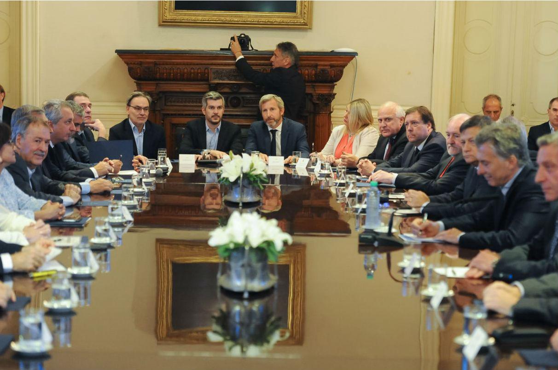 Reunión de Gobernadores con Presidente Macri 1