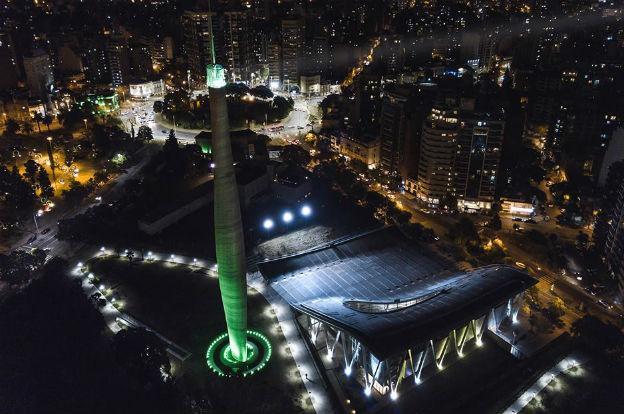Vista panorámica de la Noche de los Museos