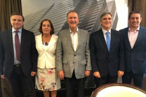 "El gobernador Schiaretti junto a los diputados cordobeses del bloque ""Córdoba Federal"""