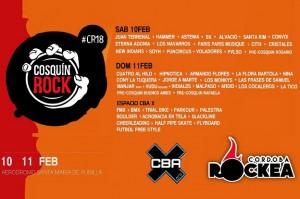 El programa de deportes extremos CBAX nuevamente confirma presencia en Cosquín Rock 2018