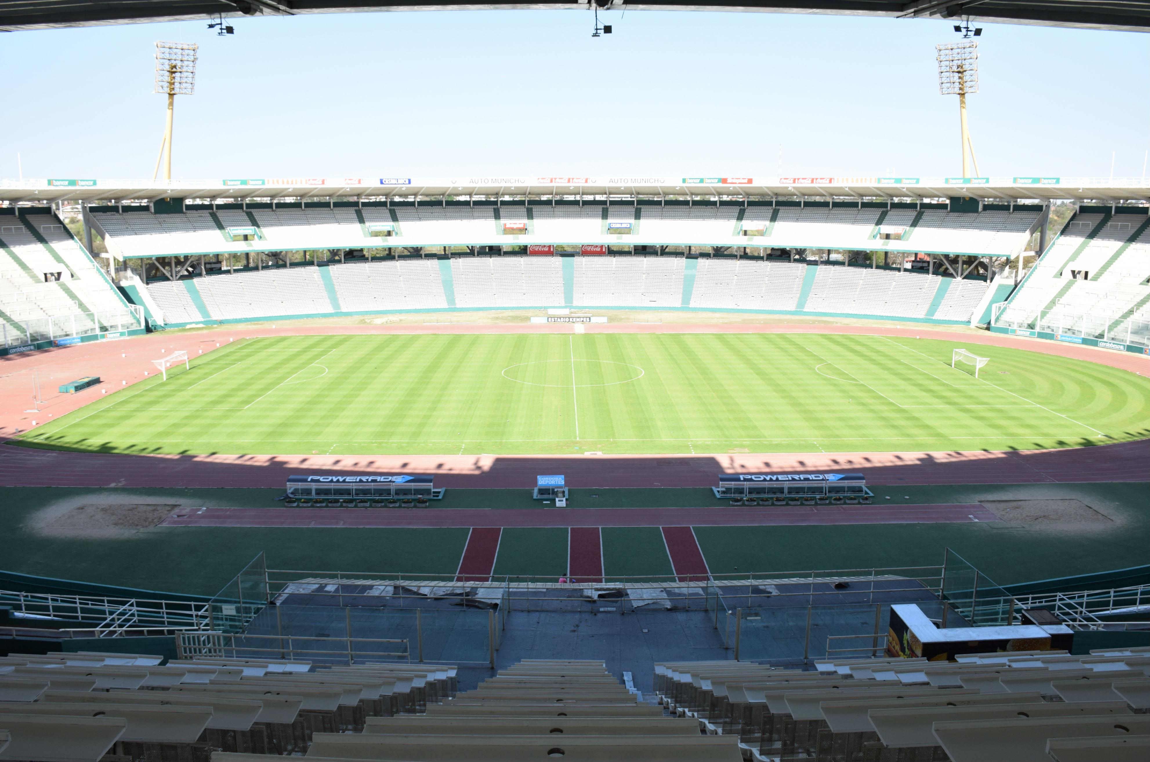 La previa del partido entre instituto racing for Puerta 20 estadio racing