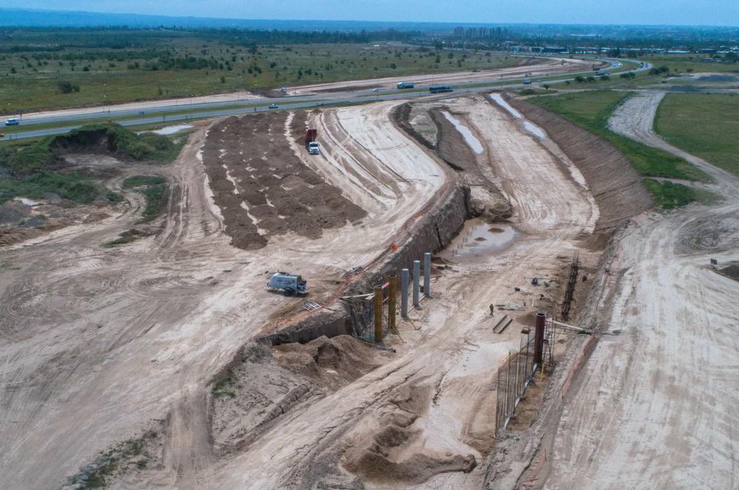 Circunvalación: cinco puentes conformarán el distribuidor en el cruce con Ruta 20