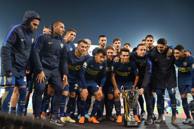 Boca derrotó a Talleres en la despedida de Kudelka