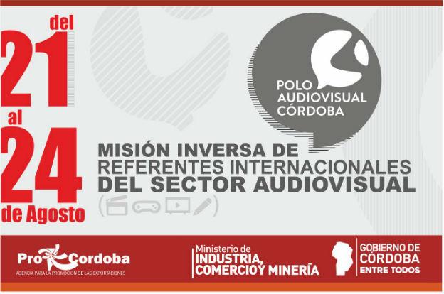 Misión inversa de referentes internacionales del sector audiovisual