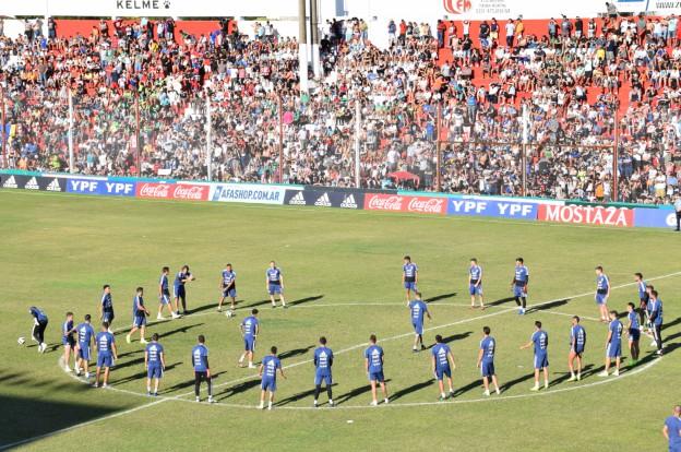 La Selección Argentina entrenó ante 15 mil cordobeses en una tarde inolvidable