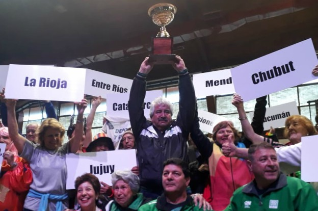 Juegos Nacionales Evita Mayores: ¡Córdoba campeón!