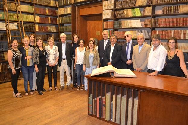 Convenio interinstitucional con la Academia Nacional de Ciencias