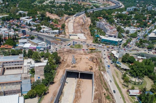 Se efectivizarán desde el martes 8 para continuar con la ampliación del  nudo vial y la construcción de desagües. Se cierra la circulación en un  tramo de Av. ... 3a3c99b3b75