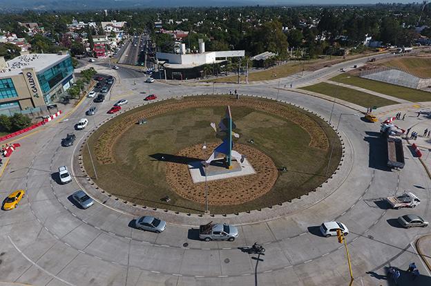 Se habilitó la circulación total en la nueva rotonda de la Mujer Urbana c4aa486cfc5