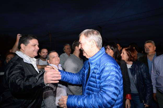 El gobernador inauguró una nueva ruta segura en la ciudad de Córdoba