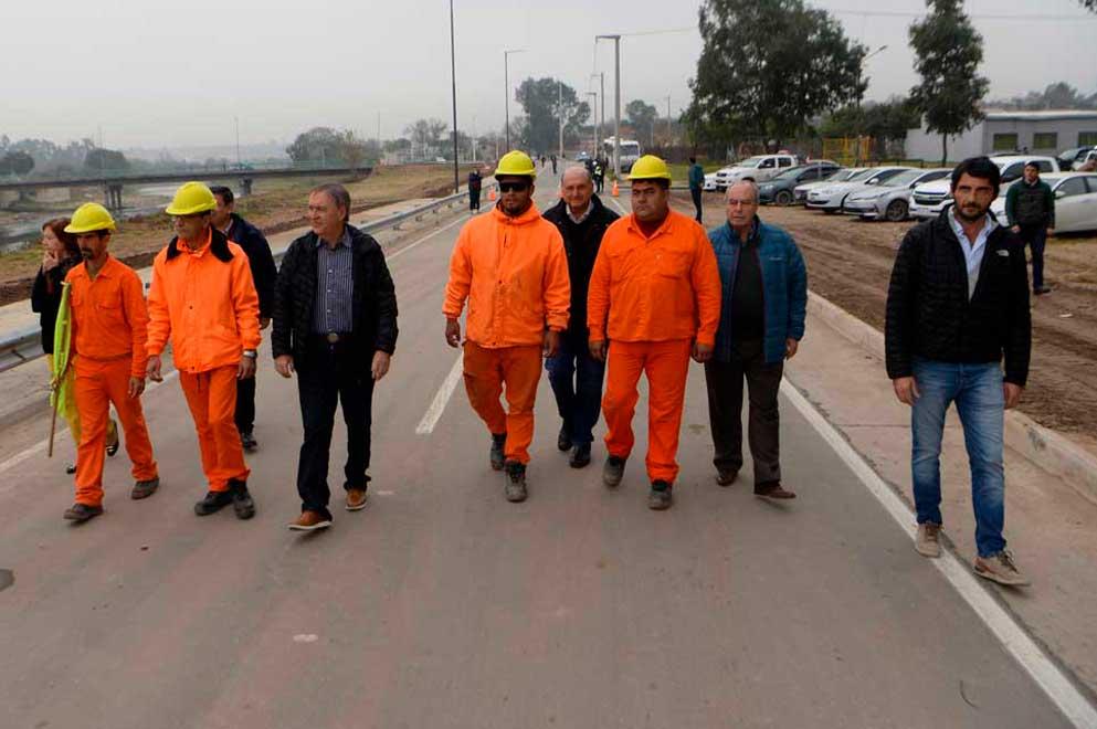 Schiaretti habilitó un nuevo tramo del Corredor Costanera Sur