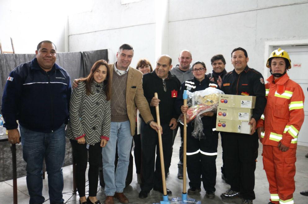 Nuevo equipamiento para once cuarteles de bomberos voluntarios