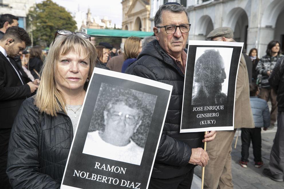 Schiaretti asistió al homenaje a las víctimas de la Amia