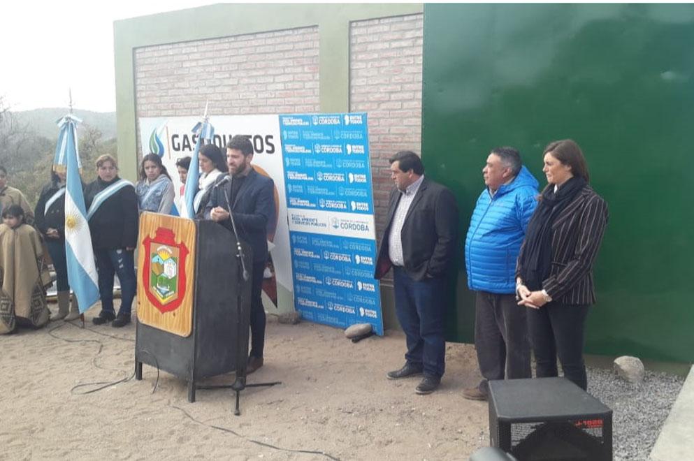 El gas natural es una realidad en San Marcos Sierras
