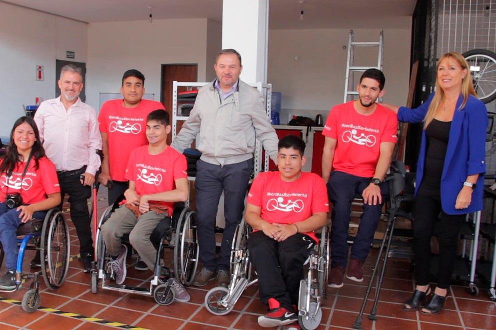 Aportes del Fondo Ayudar para una fábrica de bicis adaptadas