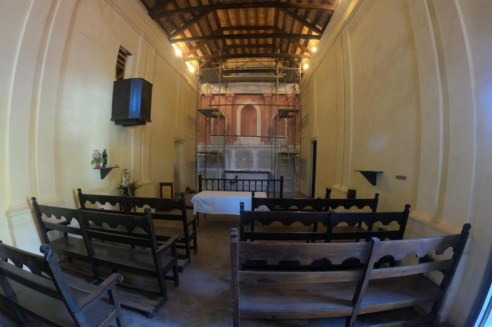 Visita a la Capilla Histórica de Pilar