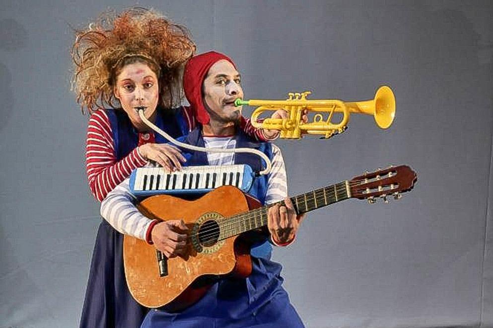 """""""Il sole Blu"""", una de las obras del Proyecto Triciclo que acerca a los chicos al teatro"""