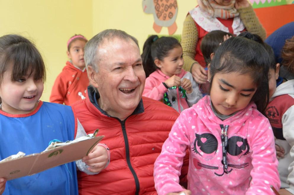 En Chancaní, ya funciona un nuevo jardín de infantes del Programa Aurora