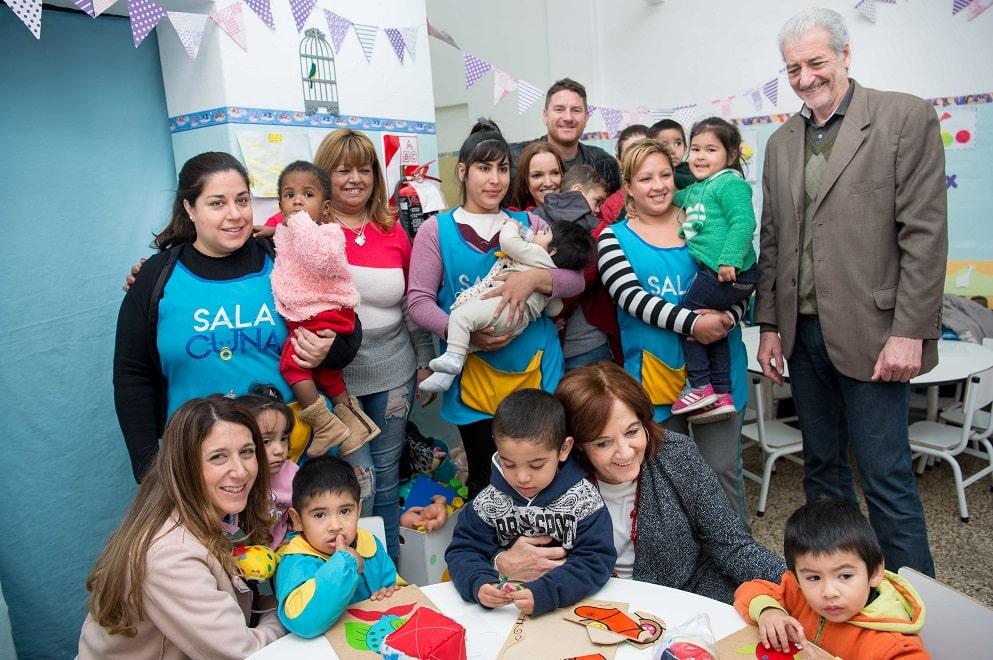 Niñas y niños de Salas Cuna festejaron su día entre risas y sorpresas