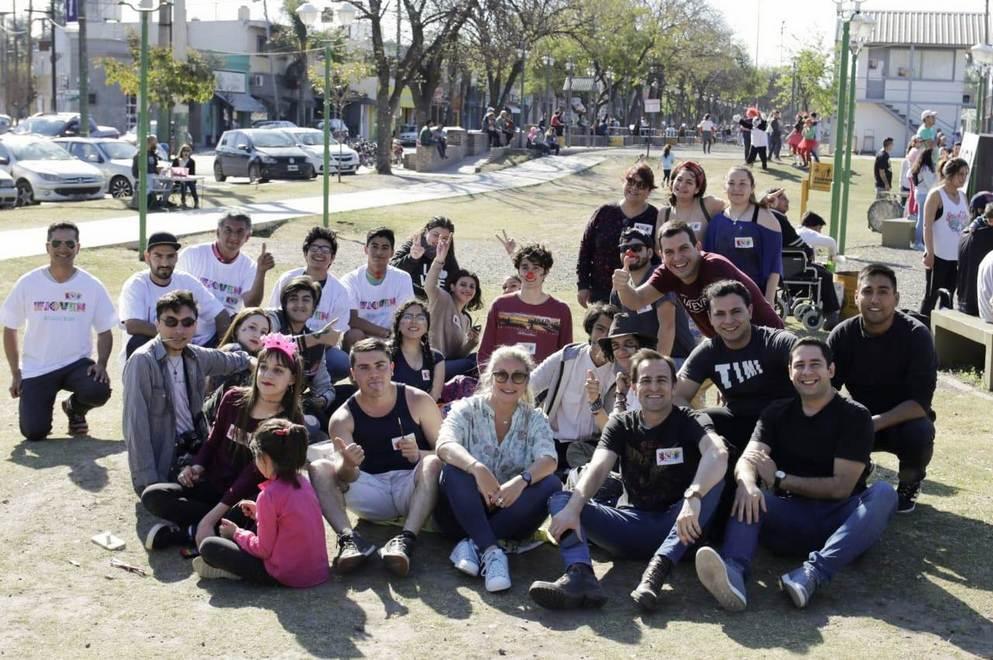 Jóvenes participaron de distintas actividades solidarias