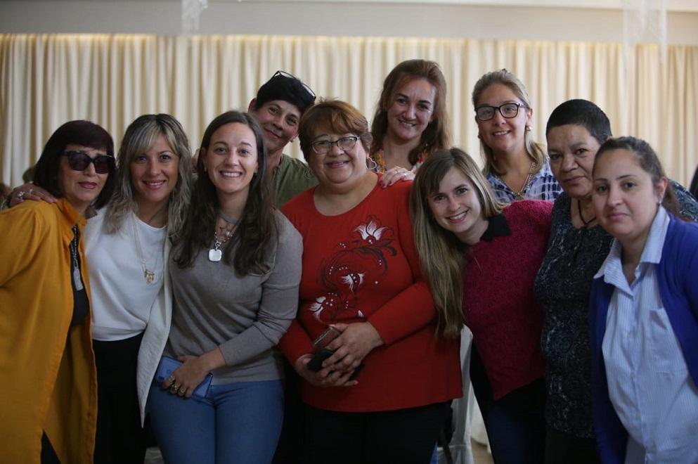 """Mujeres participaron del taller """"Liderazgo femenino"""" en Río Tercero"""
