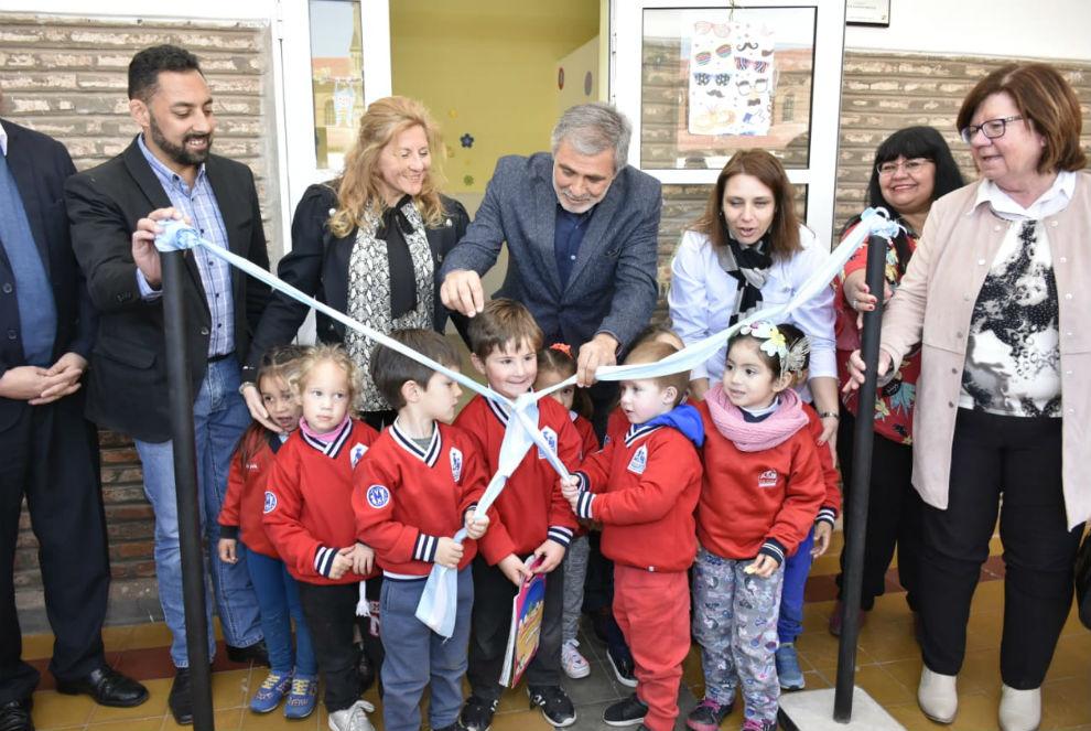 La Provincia amplió escuelas del departamento San Justo