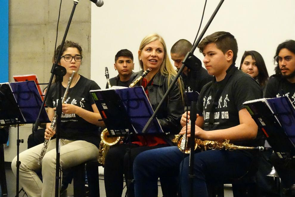 Segundo concierto de coros, orquestas y ensambles escolares